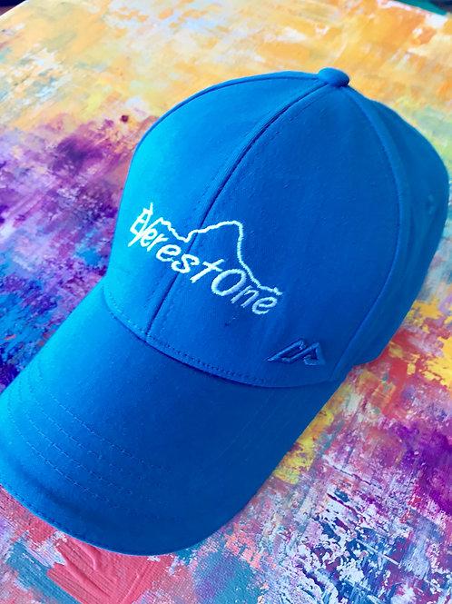 Everest One light blue baseball cap
