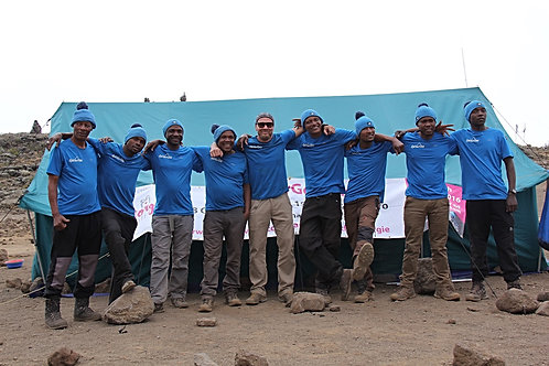 Kilimanjaro trek (Rongai) - 31st Aug to 9th Sept 2019 - Booking deposit