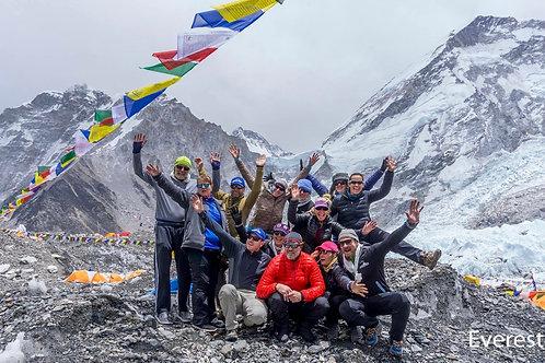 Everest Base Camp Trek - 6th to 24th April 2019 - Booking deposit