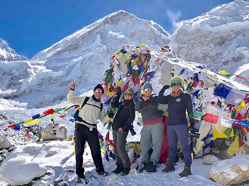 Everest Base Camp Trek - 6th to 24th April 2019 - Booking deposit