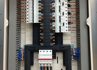 Electrician, Electrical Work, Consumer unit, distribution board, elctrical contractor