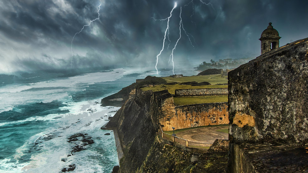 Storm over Puerto Rico