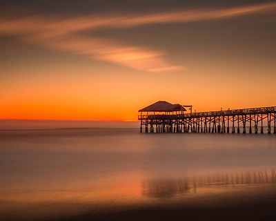 Sunrise on the pier