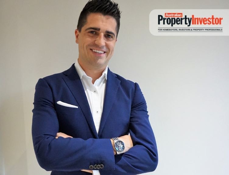 Jay Anderson Australian Property Investor Magazine Cover