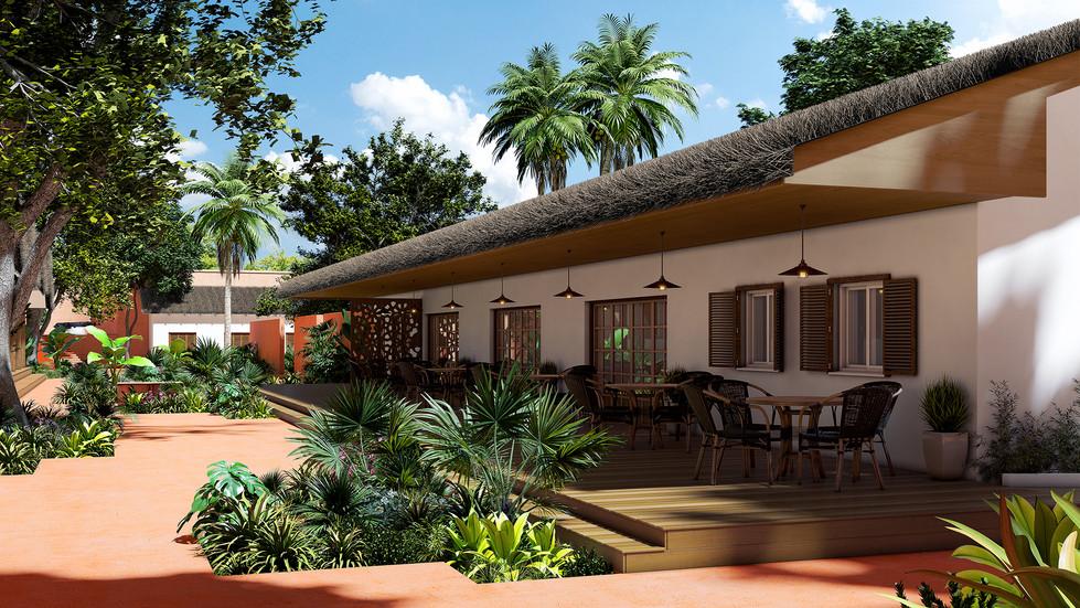 Fort Portugais - Restaurant