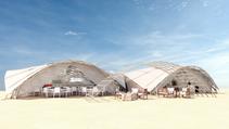 Installation éphémère pour San Pellegrino - Festival de Cannes 2018