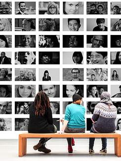 human-observer-exhibition-photo-montage-