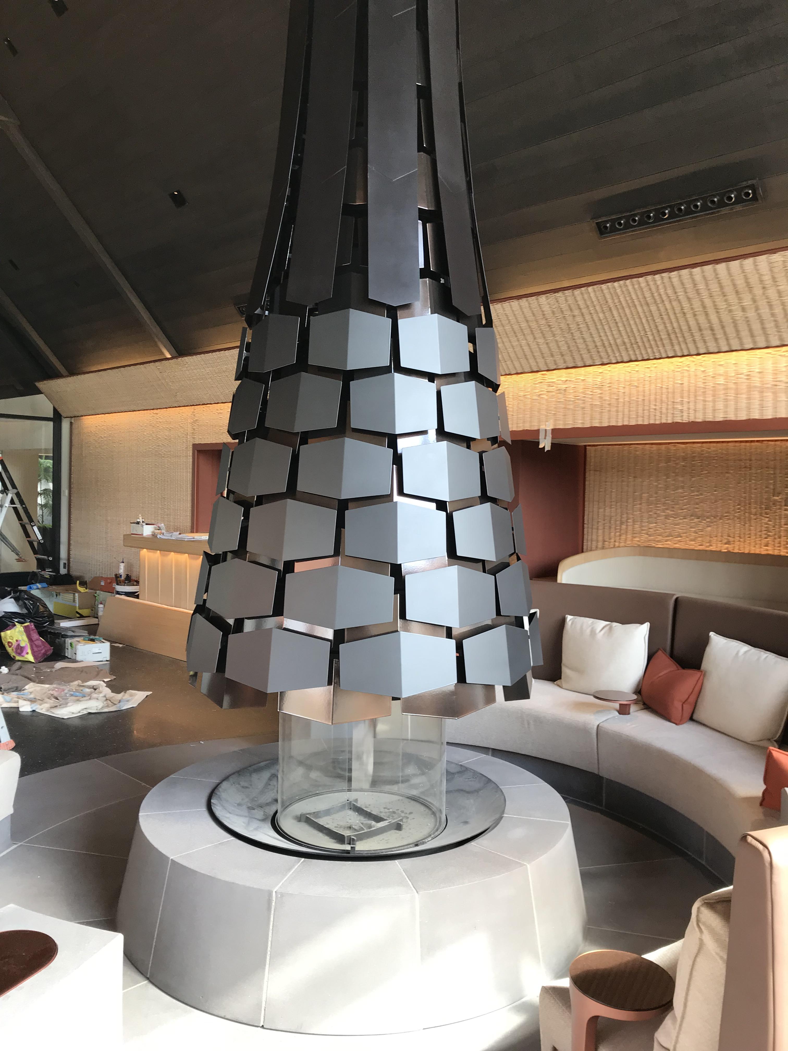 Habillage cheminée