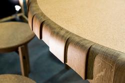 Détail Table atelier Hudelot
