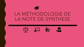 CRFPA : Comment réussir sa note de synthèse ? Les éléments clefs à ne pas négliger