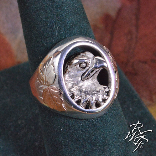 Eagle Bust Ring