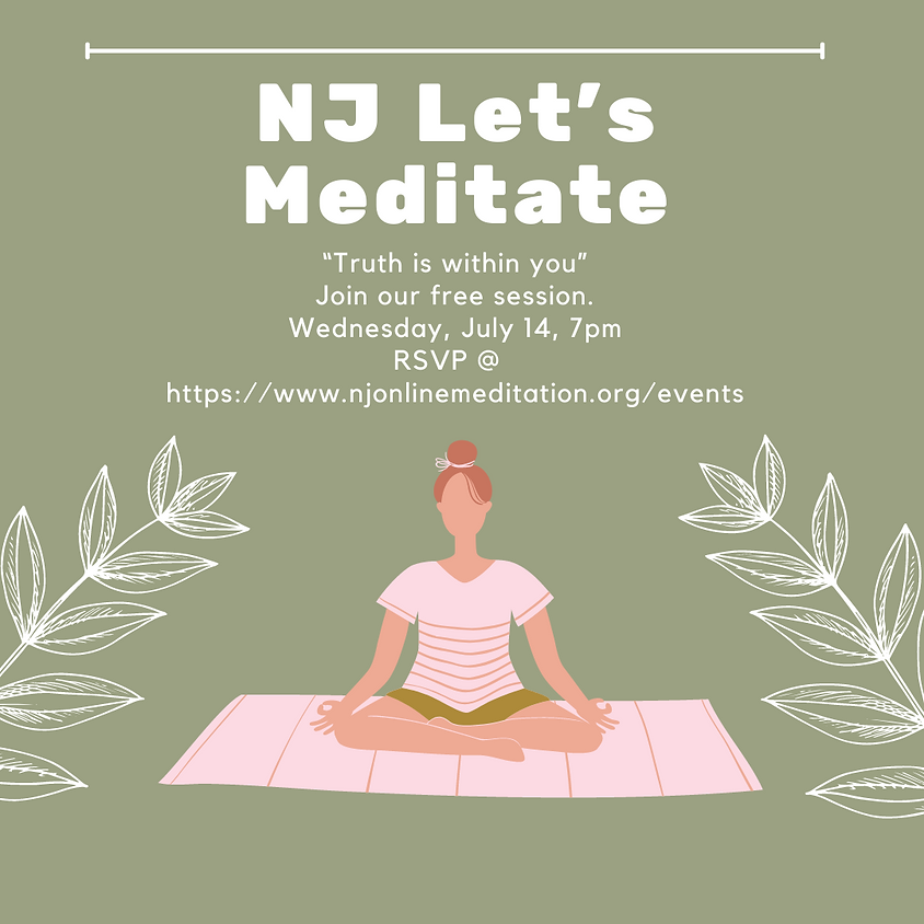 New Jersey - Let's Meditate!