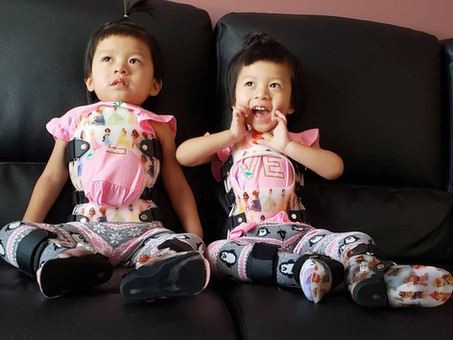 Please help us make a life-changing investment for the future of these beautiful twin girls.