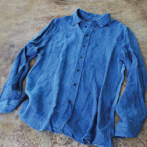 Camisa Lino Waves