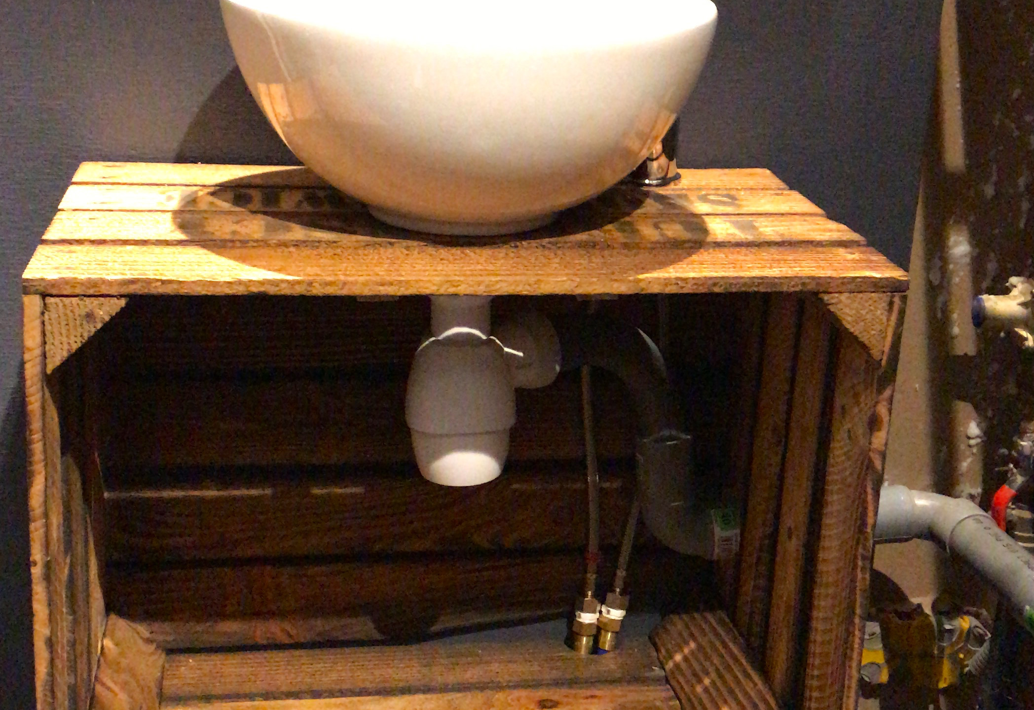 181110 Installation lave-mains WC RDC4