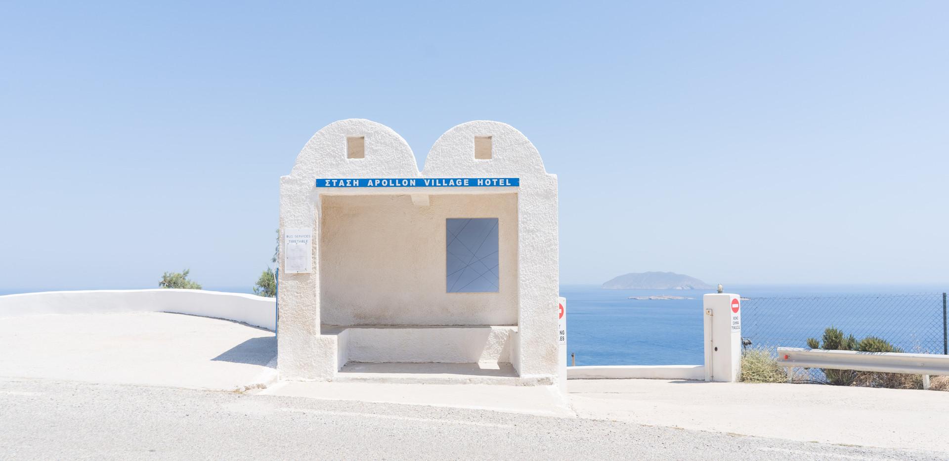 Phenomenon, Stelios Kallinikou, Bus stop project, Phenomenon 3. Photo credit: Alexandra Masmanidi
