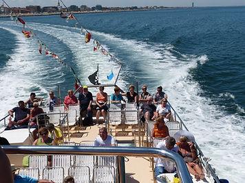Rimini Hotel Bellaria Bootfahren Boots Meer Kreuzfahrt