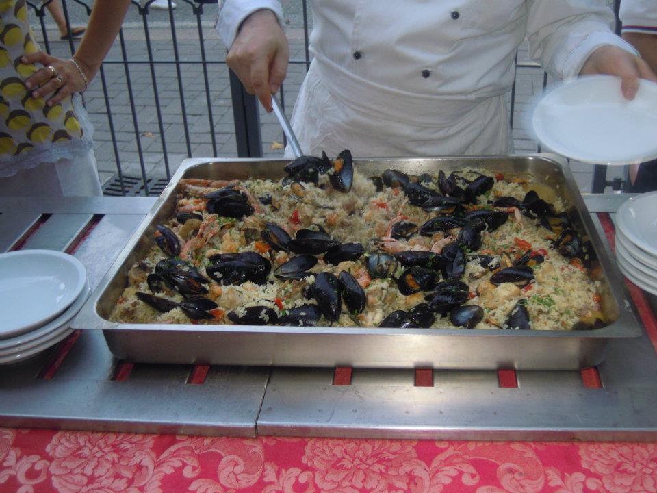 Cena di Pesce in Terrazza