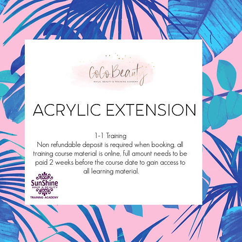 Acrylic Extension (Refresher course)