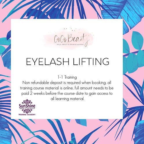 Eyelash Lifting Course