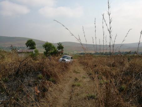 Relevé aérien par drone en RDC