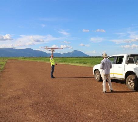 Enquête NDVI sur les drones - Nampula, Mozambique