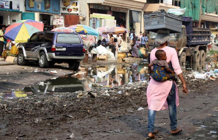 Kinshasa street life