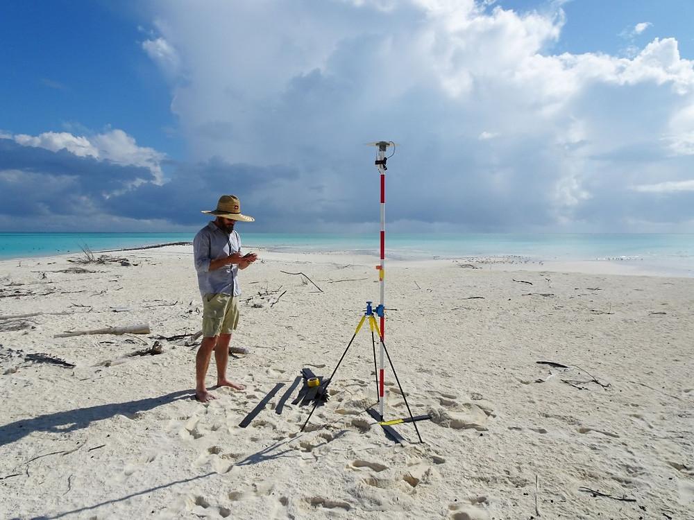 Ground control for aerial survey