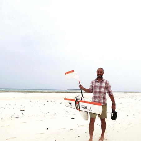 Cartographie des drones à Zanzibar