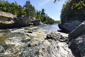Hell's Gate Rapids Kettle River