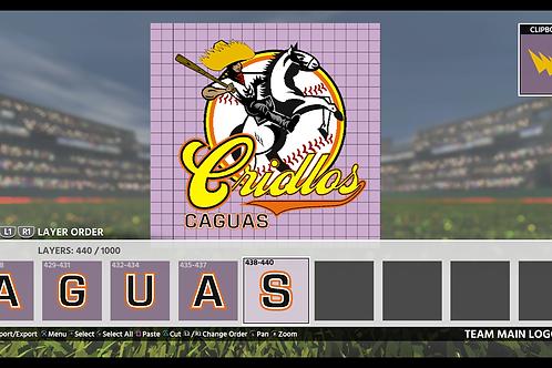 Caguas Logo | (MLB 18, MLB 19)