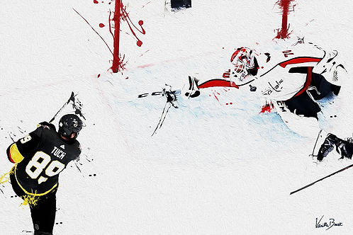 "Braden Holtby ""The Save"" - Splatter Series 