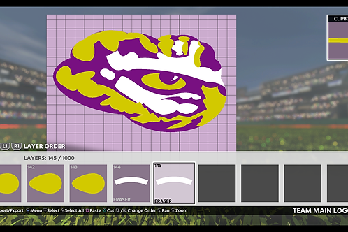 LSU Eye of the Tiger | (MLB 18, MLB 19)