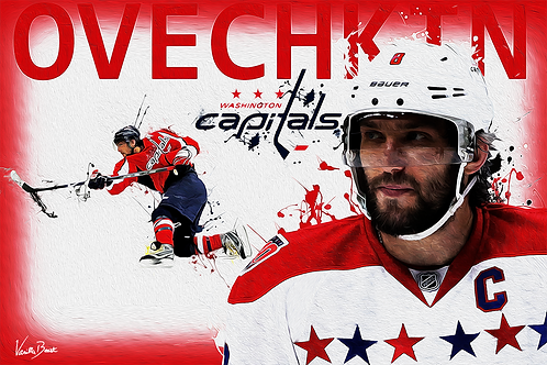 affordable 12x18 art print alexander ovechkin