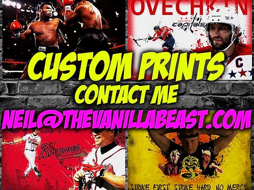 Custom 12x18 Large Art Print