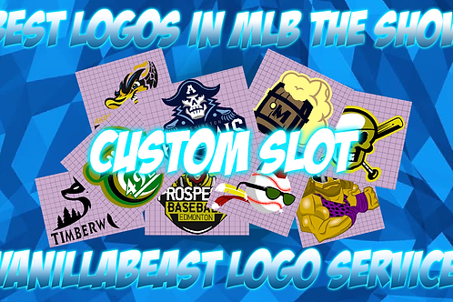 Custom Logo Slot (Rare)   MLB The Show 20