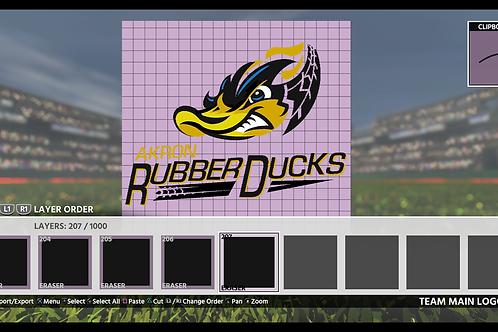 Rubber Ducks Logo | (MLB 18, MLB 19)