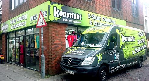 Kopyright Store Belfast