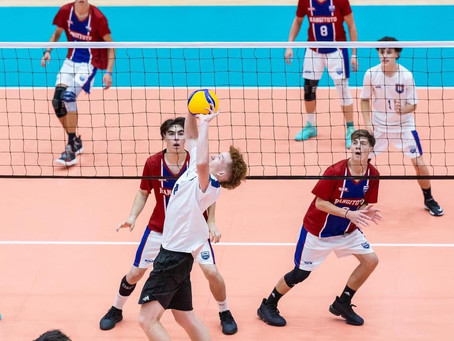 NATIONAL VOLLEYBALL SILVER MEDALISTS!