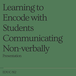 Learning to Encode with Students Communi