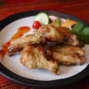Seasoned Angel Wings