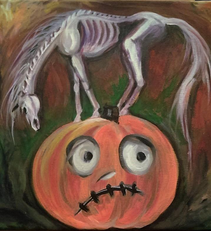horsehalloween