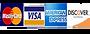 Mastercard, Visa, American Express, Discover Logo
