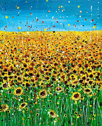 Fields of Gold A4 Print