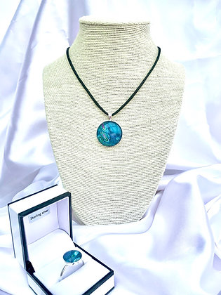 Celeste (pendant and ring set)