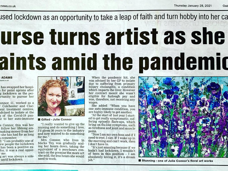 Look at me with an article in the press!!