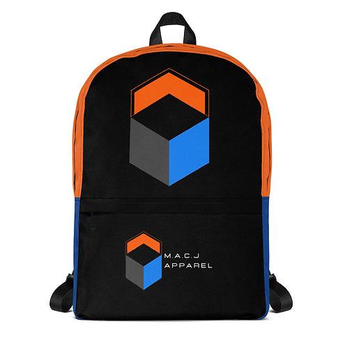 M.A.C.J Apparel Black Backpack
