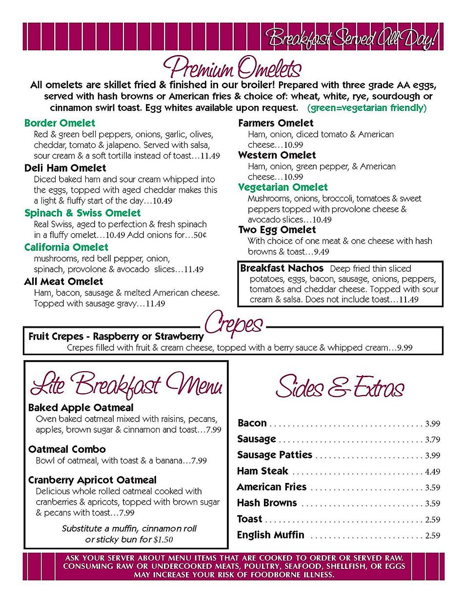 Jeffrey's family restaurant menu breakfast hours location deals Marquette Now