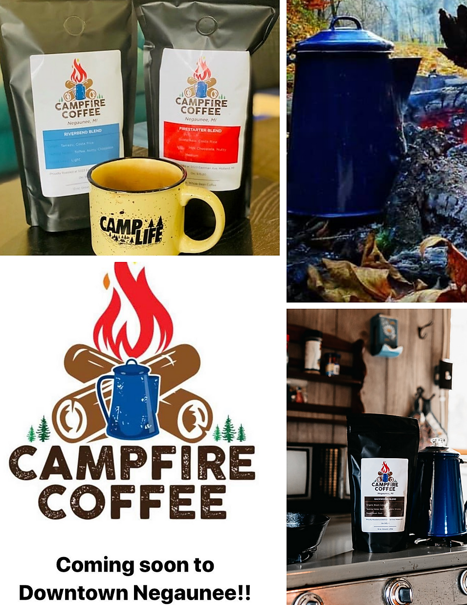 Campfire Coffee coffee roaster beans deals marquette now
