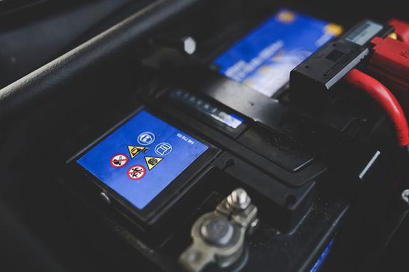 Batterie-Bildschirm